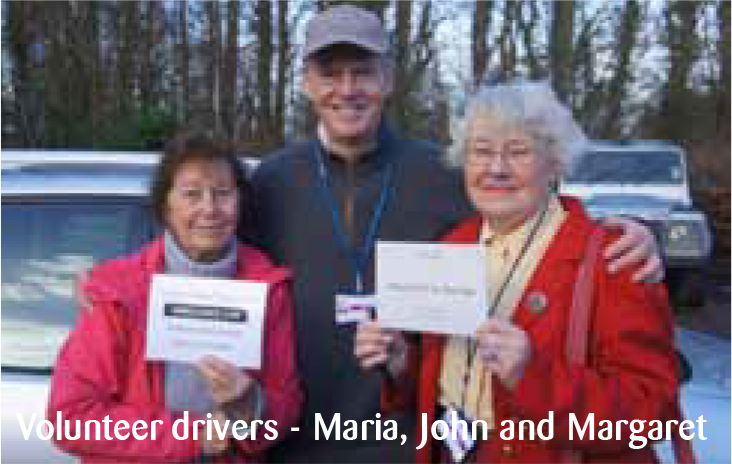 Could you be a volunteer driver?