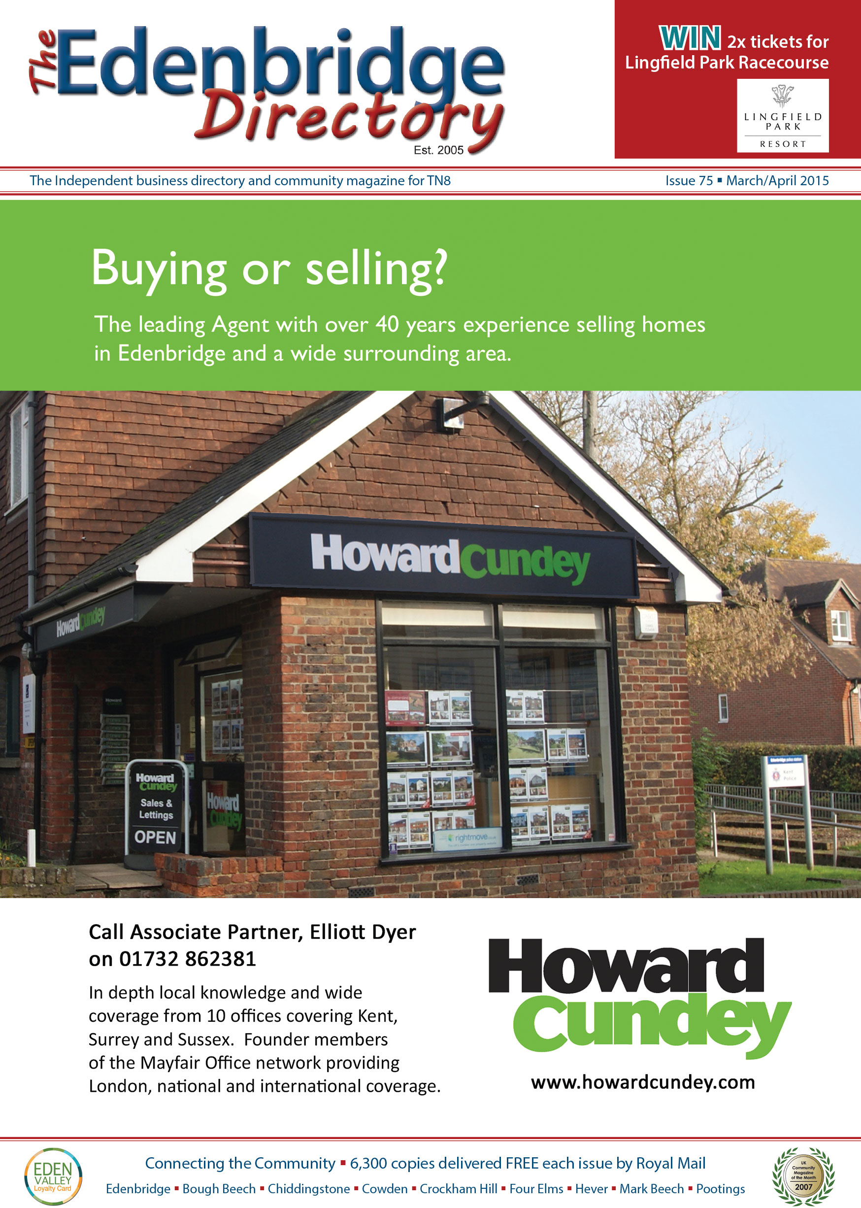 The Edenbridge Directory – Issue 75 – March/April 2015