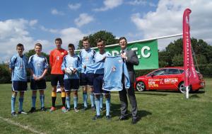 Go Vauxhall sponsor Nomads FC Edenbridge