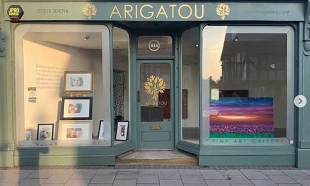 *NEW* ARIGATOU Fine Art Gallery – a gallery supporting local artists and crafts