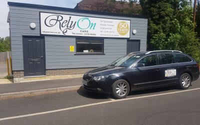 Your local taxi firm RelyOn Cars  – making sure you have a safe journey