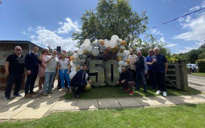 Local family run company celebrates 50 years!